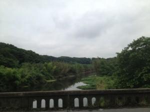 花島橋から下流_