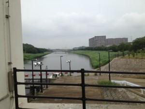 大和田排水機場から新川__